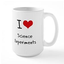 I Love Science Experiments Mug