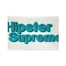 Hipster supreme Rectangle Magnet