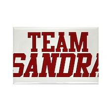 Team Sandra Rectangle Magnet