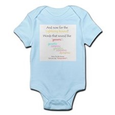 Can you say 'generic'? Infant Bodysuit
