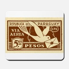 Antique 1929 Paraguay Carrier Pigeon Postage Stamp