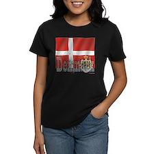 Silky Flag of Denmark Tee