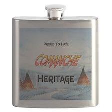 Comanche Heritage Flask