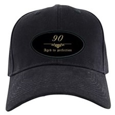 90th Birthday Aged To Perfection Baseball Cap