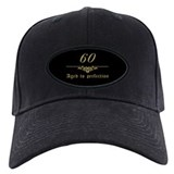 60th birthday Hats & Caps