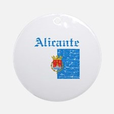 Alicante flag designs Ornament (Round)