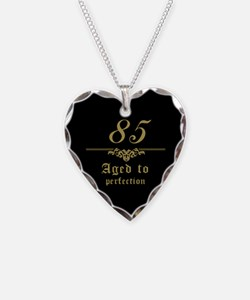 Fancy 85th Birthday Necklace