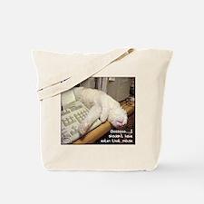 Cat & Keyboard Tote Bag