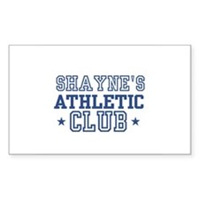 Shayne Rectangle Decal