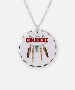 Proud to be Comanche Necklace