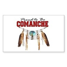 Proud to be Comanche Decal