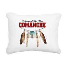 Proud to be Comanche Rectangular Canvas Pillow