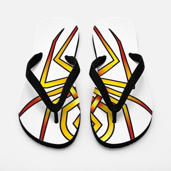 Arachnid Flip Flops
