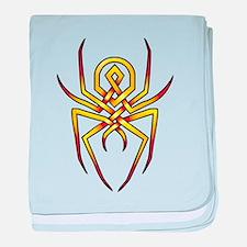 Arachnid baby blanket