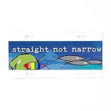 Cute Religious progressive Aluminum License Plate