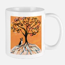 Boston Terrier orange Mug