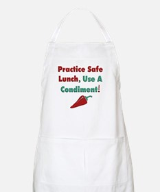 Use a Condiment BBQ Apron