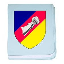 2 Schnellbootgeschwader Wappen baby blanket