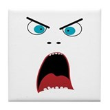 Angry eyes Drink Coasters