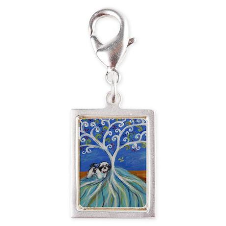 Shih Tzu spiritual love tree Charms