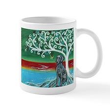 Weimaraner Spritual Love Tree Mug