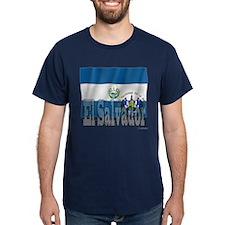 Silky Flag of El Salvador T-Shirt