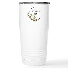 Hooked On Jesus Travel Mug