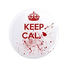 "Calm Blood 3.5"" Button"