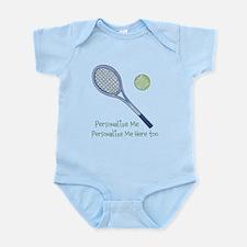 Personalized Tennis Infant Bodysuit