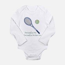 Personalized Tennis Baby Suit