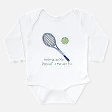 Personalized Tennis Onesie Romper Suit