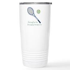 Personalized Tennis Travel Mug