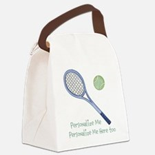 Personalized Tennis Canvas Lunch Bag