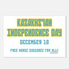 Kazakhstan Independence Postcards (Package of 8)