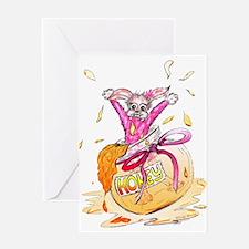 HoneyBunny Honey Bunny Greeting Card