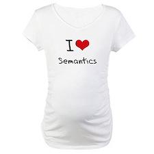 I Love Semantics Shirt