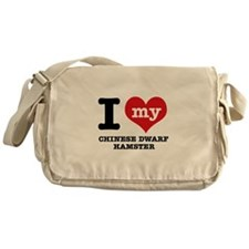 I love my Chiese Dwarf Hamster Messenger Bag