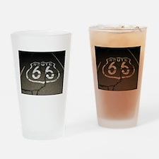 Night Drive Drinking Glass