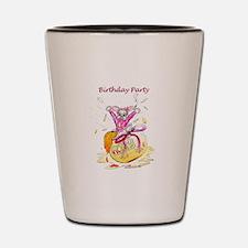 Honey Bunny - Birthday Party Invitation Shot Glass