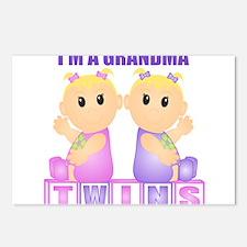 I'm A Grandma (BGG:blk) Postcards (Package of 8)