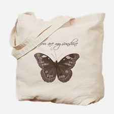 You are my Sunshine Butterfly Tote Bag