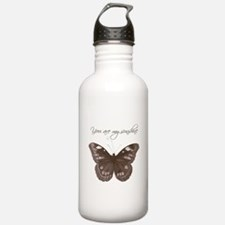 You are my Sunshine Butterfly Water Bottle