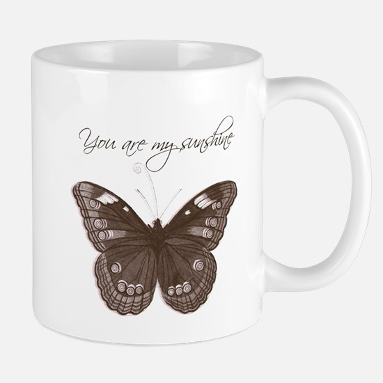 You are my Sunshine Butterfly Mug