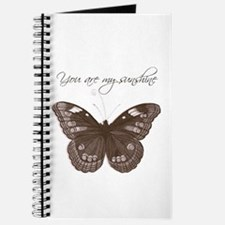 You are my Sunshine Butterfly Journal