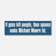 If Guns Kill People Car Magnet 10 x 3