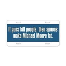If Guns Kill People Aluminum License Plate