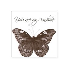 You are my Sunshine Butterfly Sticker