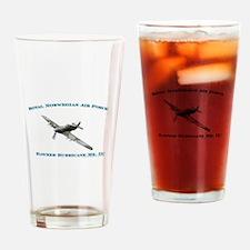RNoAF Hawker Hurricane Drinking Glass