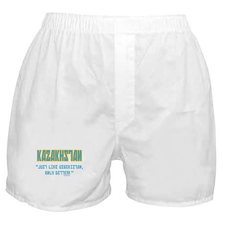 Kazakhstan Is Better! Boxer Shorts