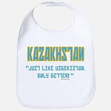 Kazakhstan Is Better! Bib